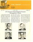 The Brief (The Spring 1972 Alumni Magazine)