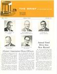 The Brief (The Winter 1971 Alumni Magazine)