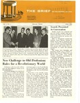 The Brief (The Fall 1966 Alumni Magazine)