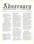 The Adversary (Vol. 1, No. 1, September 17, 1969)