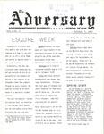 The Adversary (Vol. 1, No. 2, October 7, 1969)