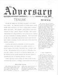 The Adversary (December 3, 1969)