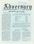 The Adversary (April 22, 1970)