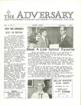 The Adversary (Vol. 4, No. 1, September 1971) by Southern Methodist University School of Law