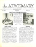The Adversary (Vol. 4, No. 10, April 1972) by Southern Methodist University School of Law