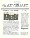 The Adversary (Vol. 5, No. 2, September 1972) by Southern Methodist University School of Law