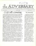 The Adversary (October 1972, v.2)