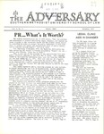 The Adversary (November 1972, v.1)
