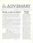 The Adversary (November 1972, v.2)