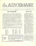 The Adversary (January 1973)