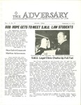 The Adversary (Vol. 3, No. 8, February 3, 1971) by Southern Methodist University School of Law