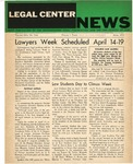 Legal Center News, Vol. 1, No. 2