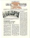 Southwestern Legal Center News, Vol. 1, No. 5