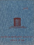 1970 Southern Methodist University School of Law Yearbook by Southern Methodist University, Dedman School of Law